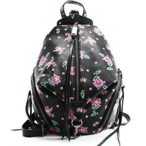 Rebecca Monkoff Leather Flower Backpack